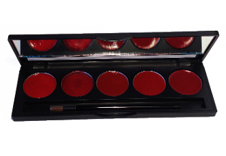 5 Well Palette For Lipstick Samples
